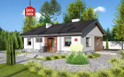 Energooszczędny i ekonomiczny dom przy Klonowej 5