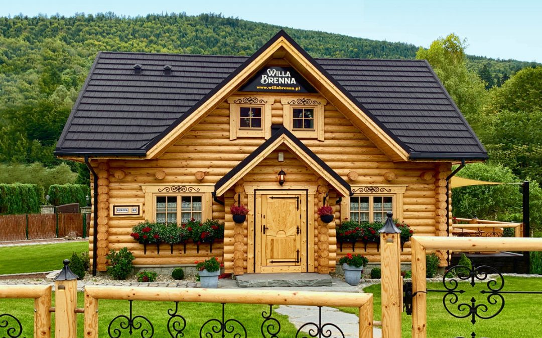 Noclegi Brenna w klimatycznym domu z drewna
